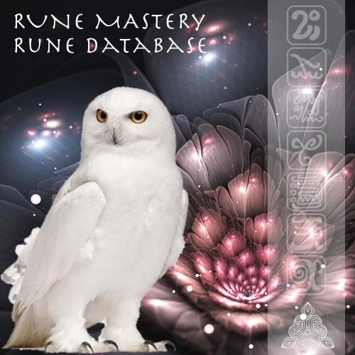 Rune Mastery Rune database image
