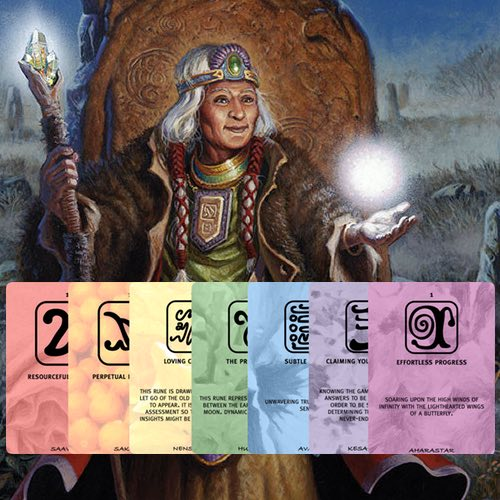 Rune cards product image